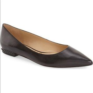 Sam Edelman Black Reyanne Spikey Heel Flats
